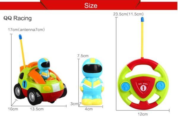 Cartoon Race Car
