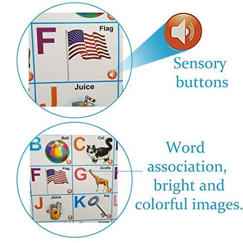 Just Smarty Electronic Interactive Alphabet Wall Chart.bestalltoys.com