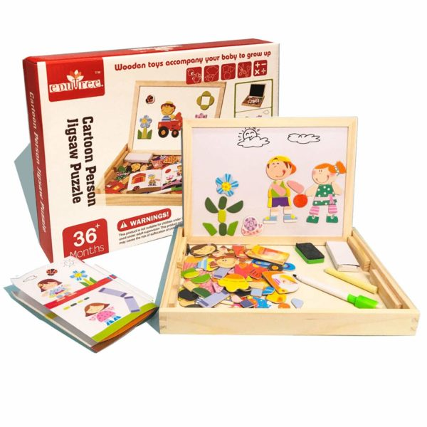 Educational Wooden Toys ODDODDY for Girls