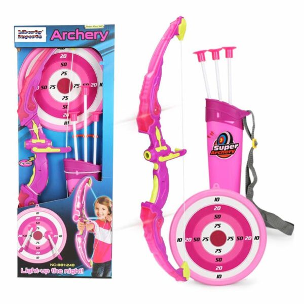 Light Up Archery Bow and Arrow Toy Sets