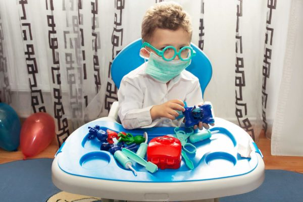 Educational Doctor Medical Pretend Play set