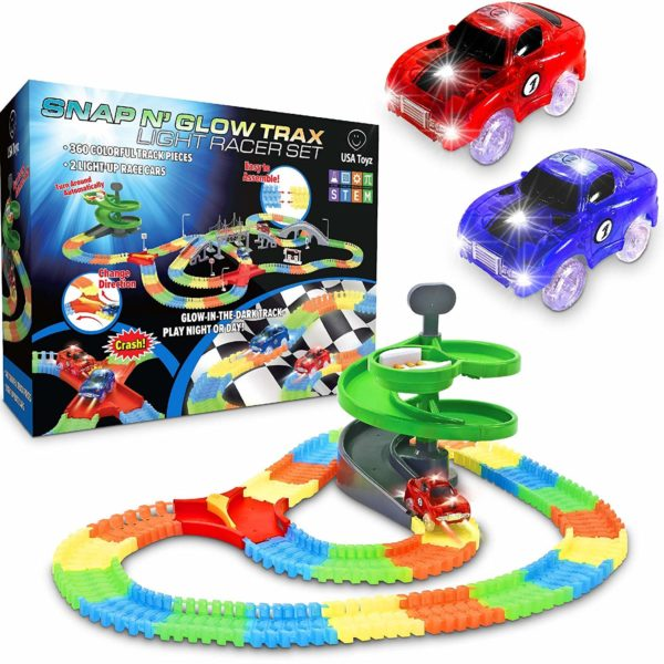 Glow Race Track