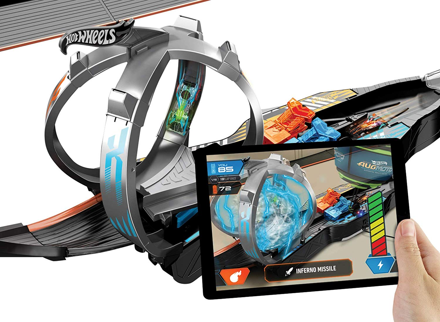 Hot Wheels Augmoto Augmented Reality Racing