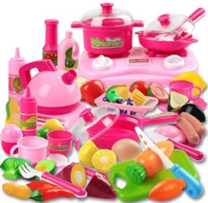 Kitchen Cooking Set Girls Boys
