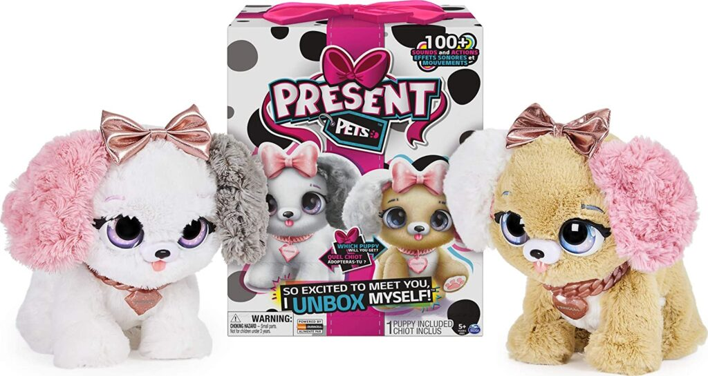 Interactive Plush Pet Toy