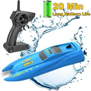Best Remote Control Boat Blue
