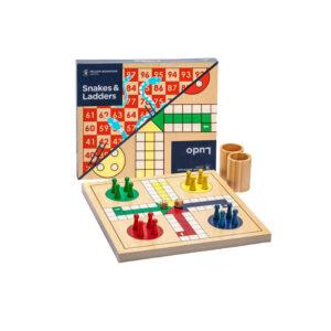 ludo board game wooden